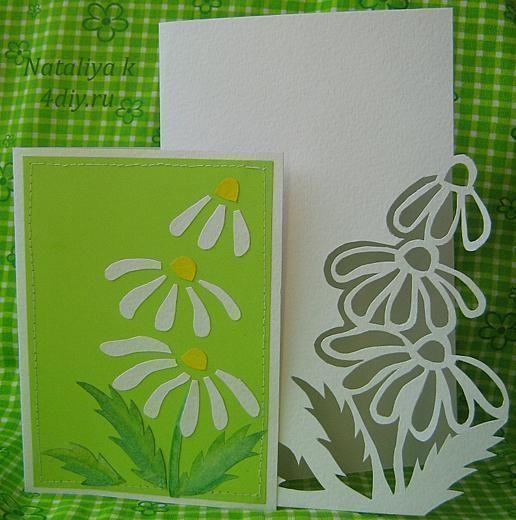 Открытка вытынанка к 8 марта открытка, днем рождения