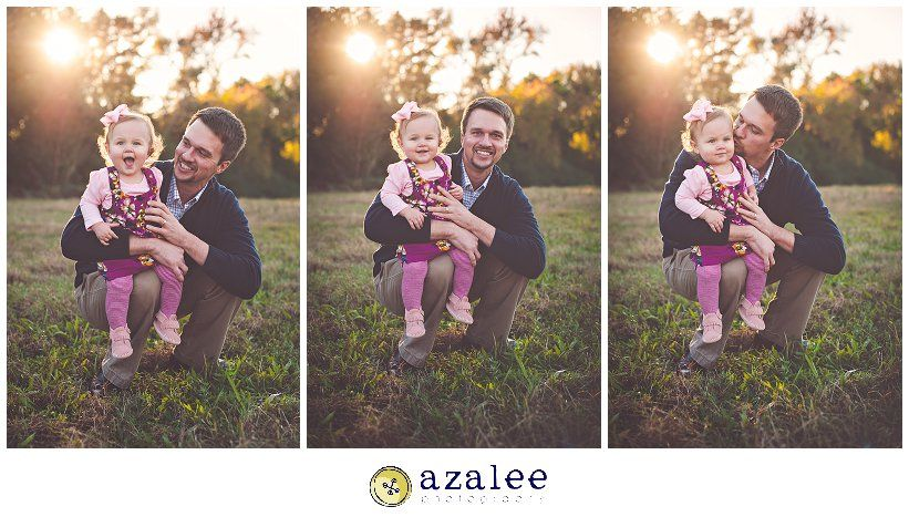 Azalee Photography » Columbia SC photographer, Outdoor family photography, father daughter photo