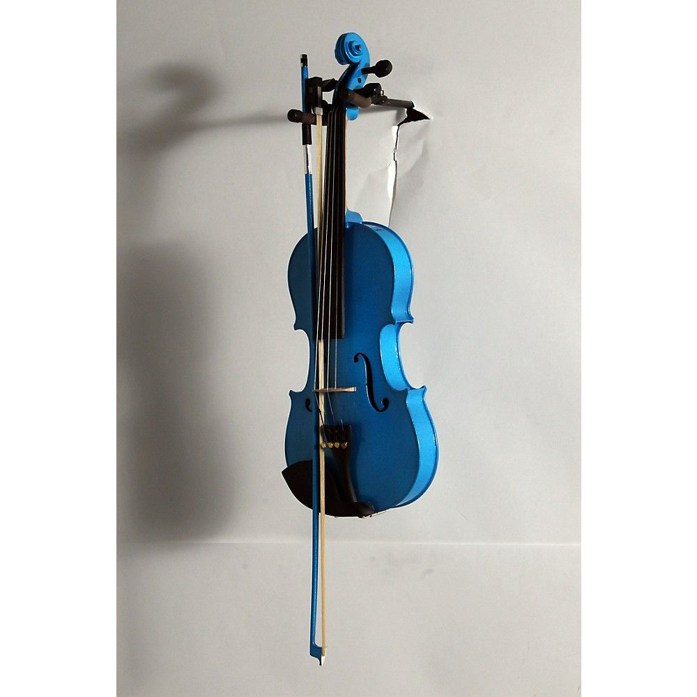 Bellafina Rainbow Series Blue Violin Outfit 4/4 Size 190839013354