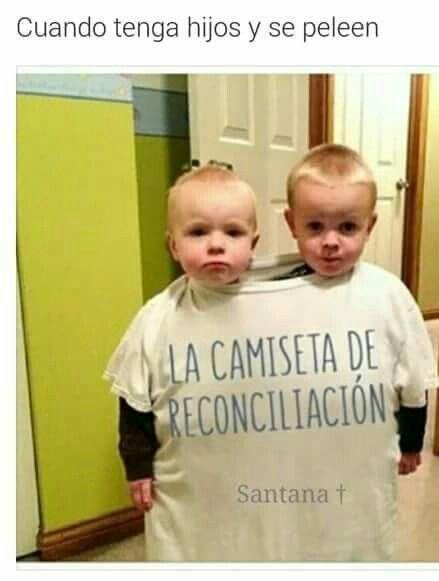 Camisa De Reconciliación Camisetas Niños Y Frases Graciosas