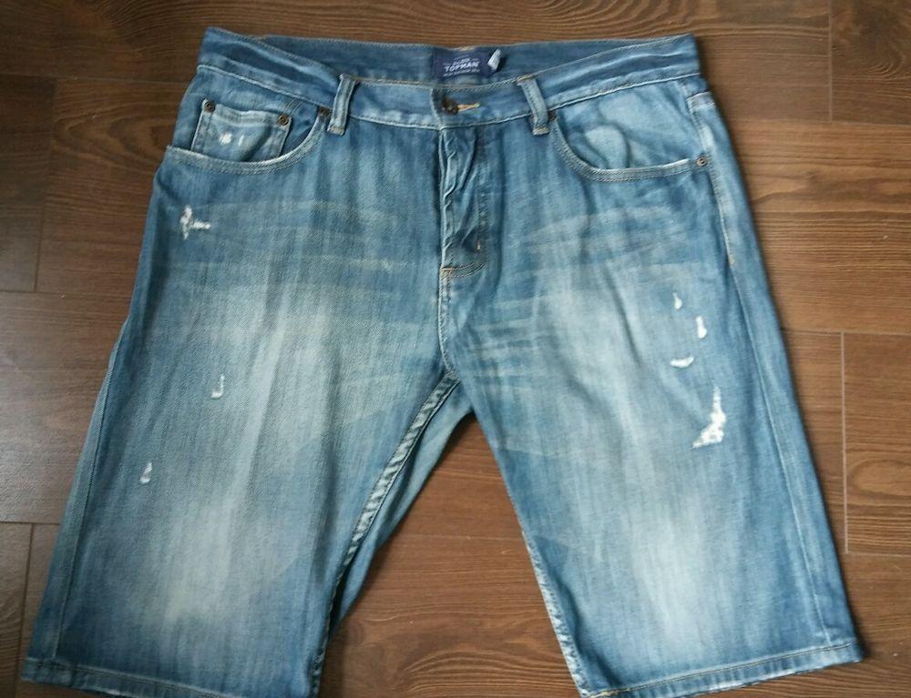 Men s 34  Topman denim shorts