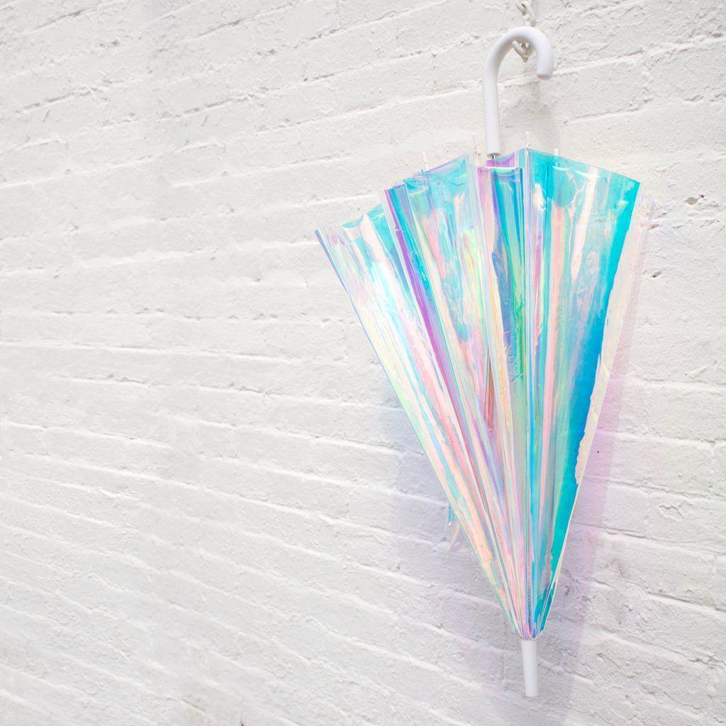 2c677dbf250c Holo Umbrella in 2019 | New York | Holographic fashion, Holographic ...