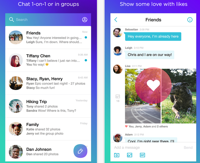 Yahoo Launches Redesigned Yahoo Messenger on Mobile