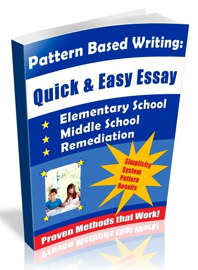 Elementary And Middle School Writing Curriculum Paragraph Examples