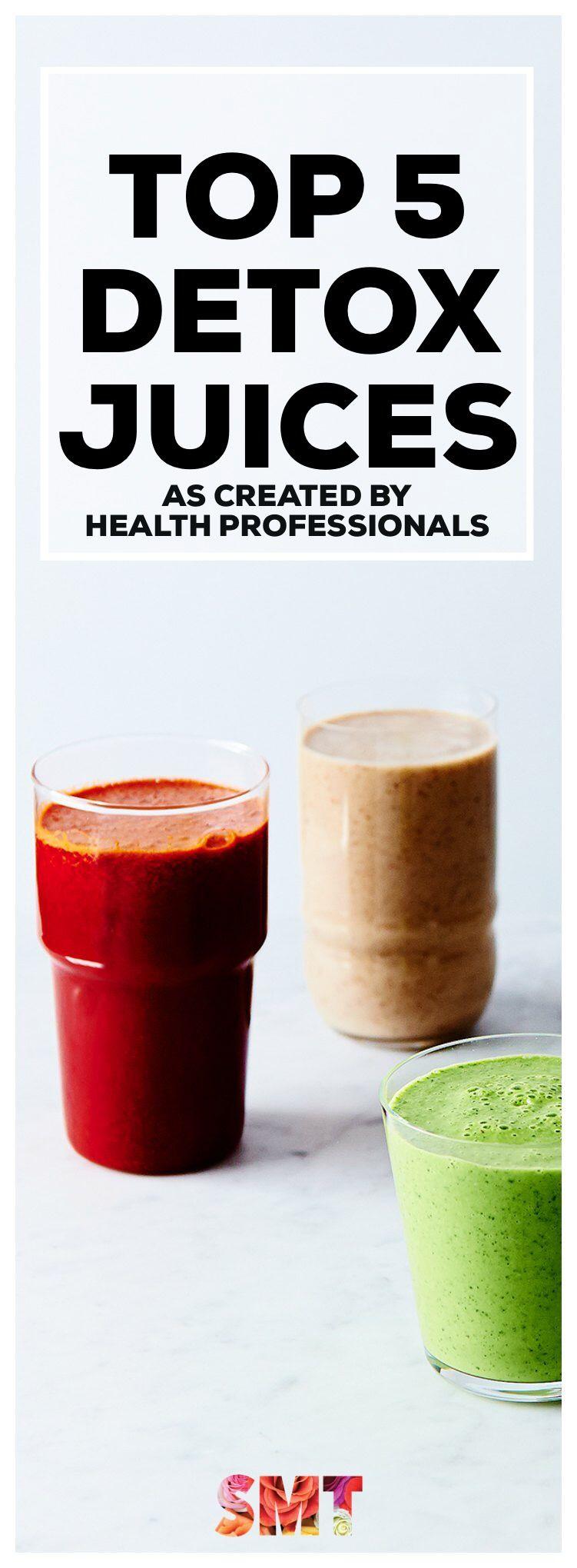 Top 5 Detox Juices Detox recipes, Healthy juice recipes