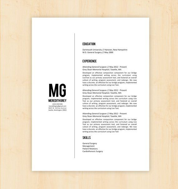 4 Minimalist Resumes LAYOUT\/PORTFOLIO Pinterest - resumes that sell you