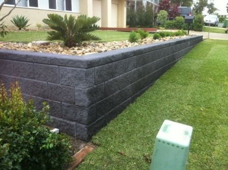 Cheap Retaining Wall Ideas Aol Image Search Results Sloped