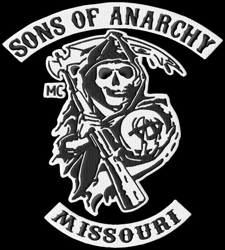 Sons Of Anarchy New Jersey Rocker Patch Sons Of Anarchy Custom
