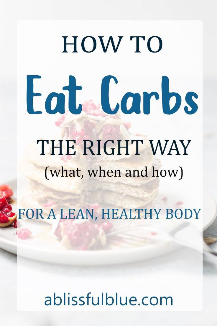 If you love carbs like I do, you don't need to give up carbs to get the body you want. The good news...