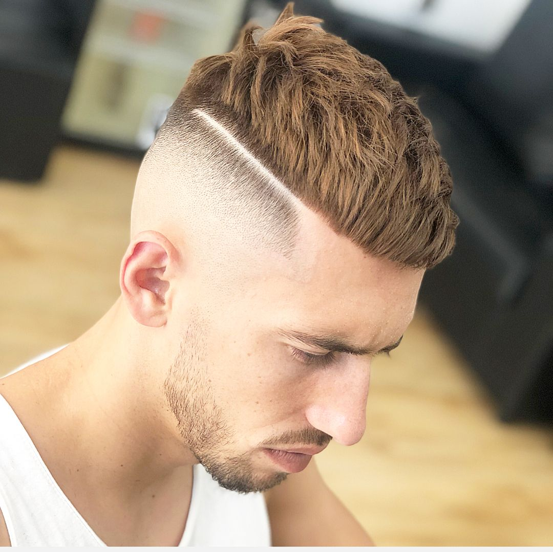 Men's hard part haircut how to style a hard part  awesome hard part haircuts  haircuts