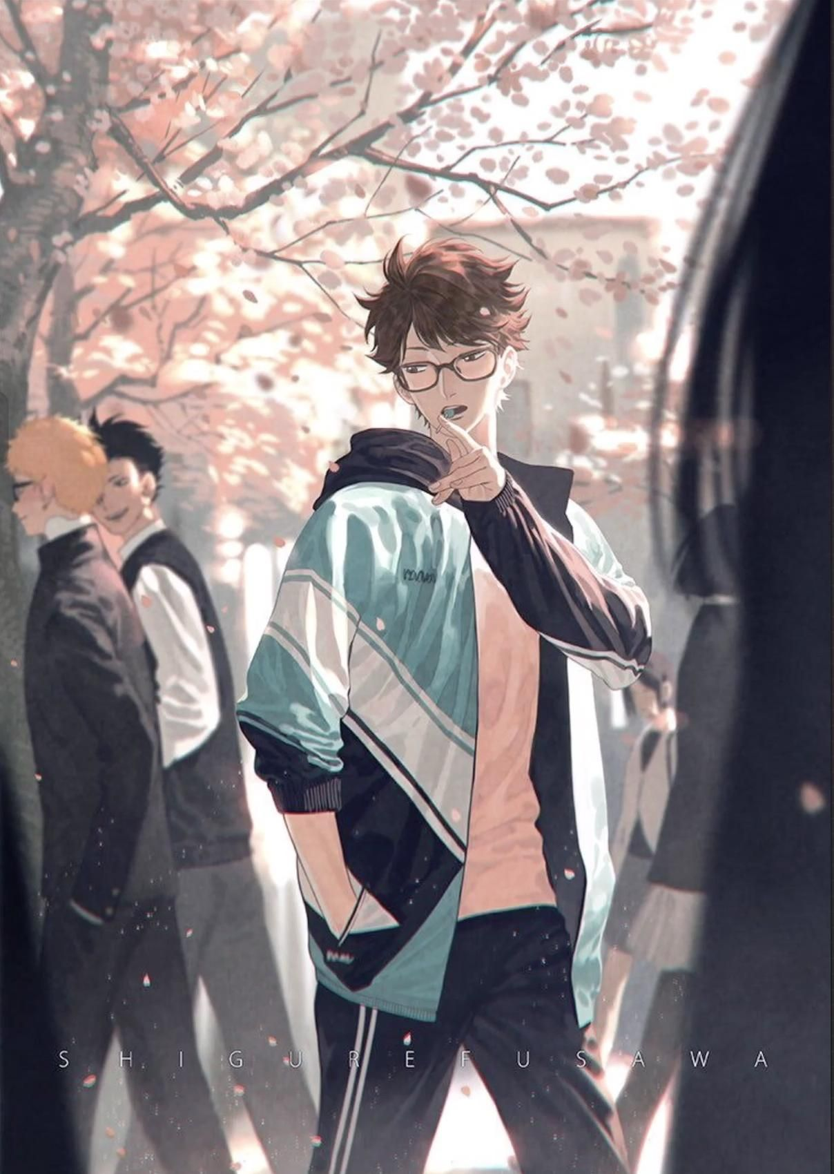 Oikawa~ I mainly animated this so i can make it in