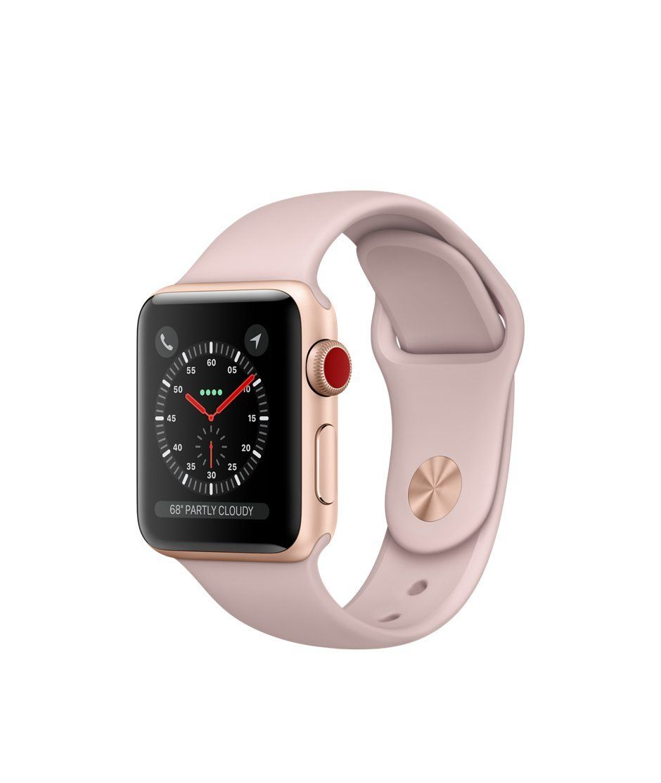 Apple watch series 3 Aluminum case Sport 38mm GPS Cellular