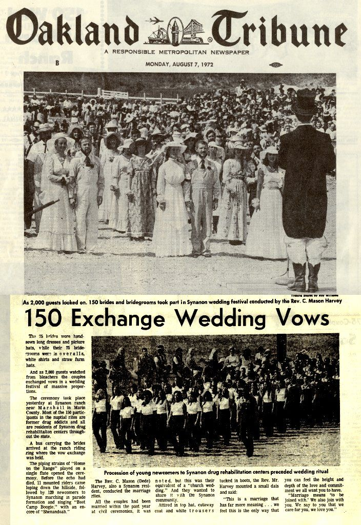 Oakland Tribune article about a group wedding ceremony held at the - best of birth certificate oakland ca