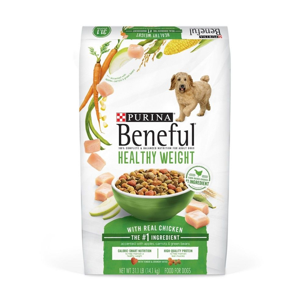 Purina Beneful Healthy Weight With Real Chicken Dry Dog Food 28lbs