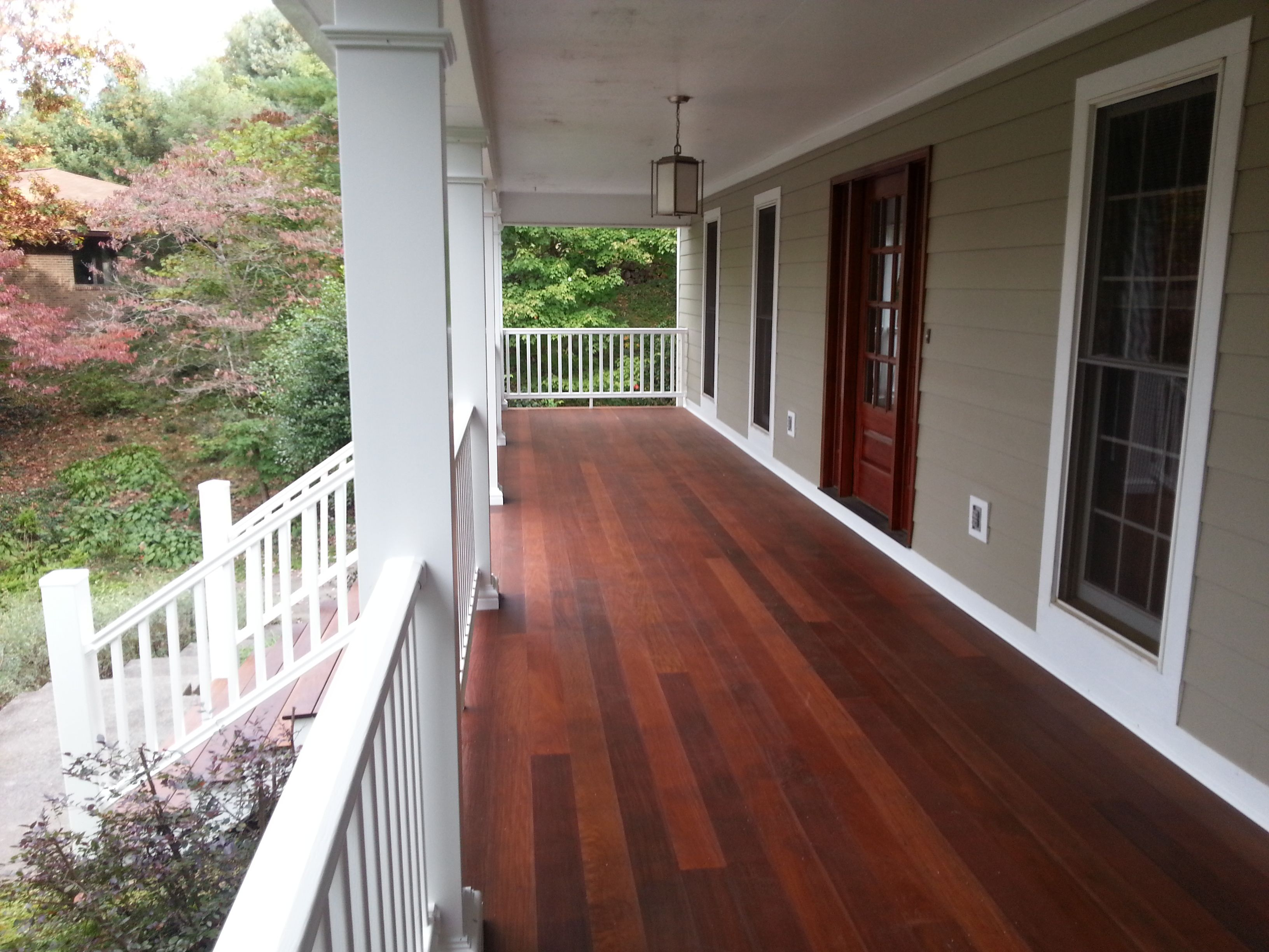 porch groove of above and amount designs decking cedar hardwood flooring tongue