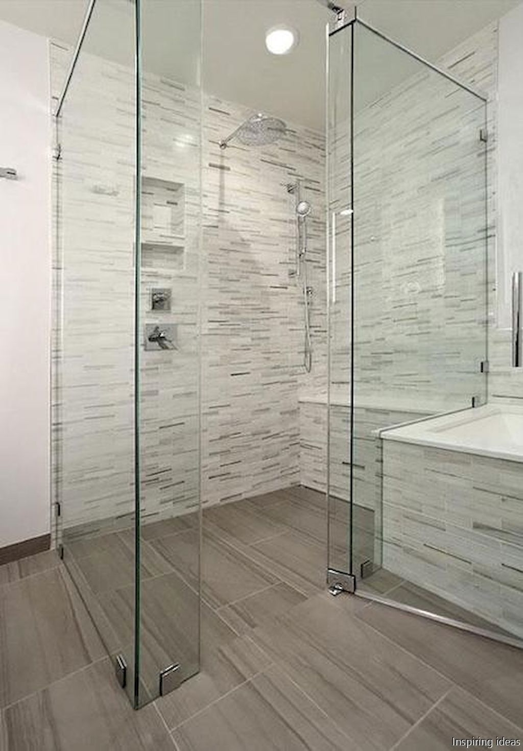 Gorgeous 75 Simple Curbless Shower Ideas for
