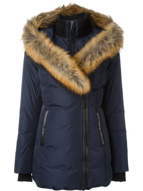 The most elegant down jacket I have seen all time!!!  Mackage Adalif ダウンコート