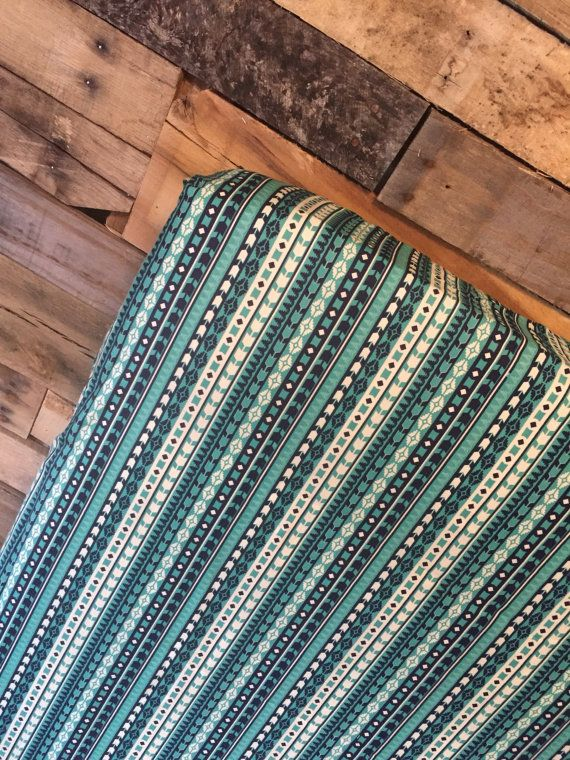 Hey, I found this really awesome Etsy listing at https://www.etsy.com/listing/459540428/blue-and-teal-aztec-fitted-crib
