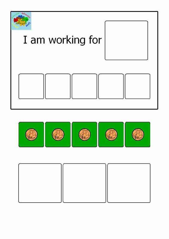 Example Printable Token Economy ABA Token Economy