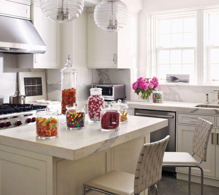 1001 ideas para organizar las cocinas peque as cocina for Cocinas clasicas pequenas