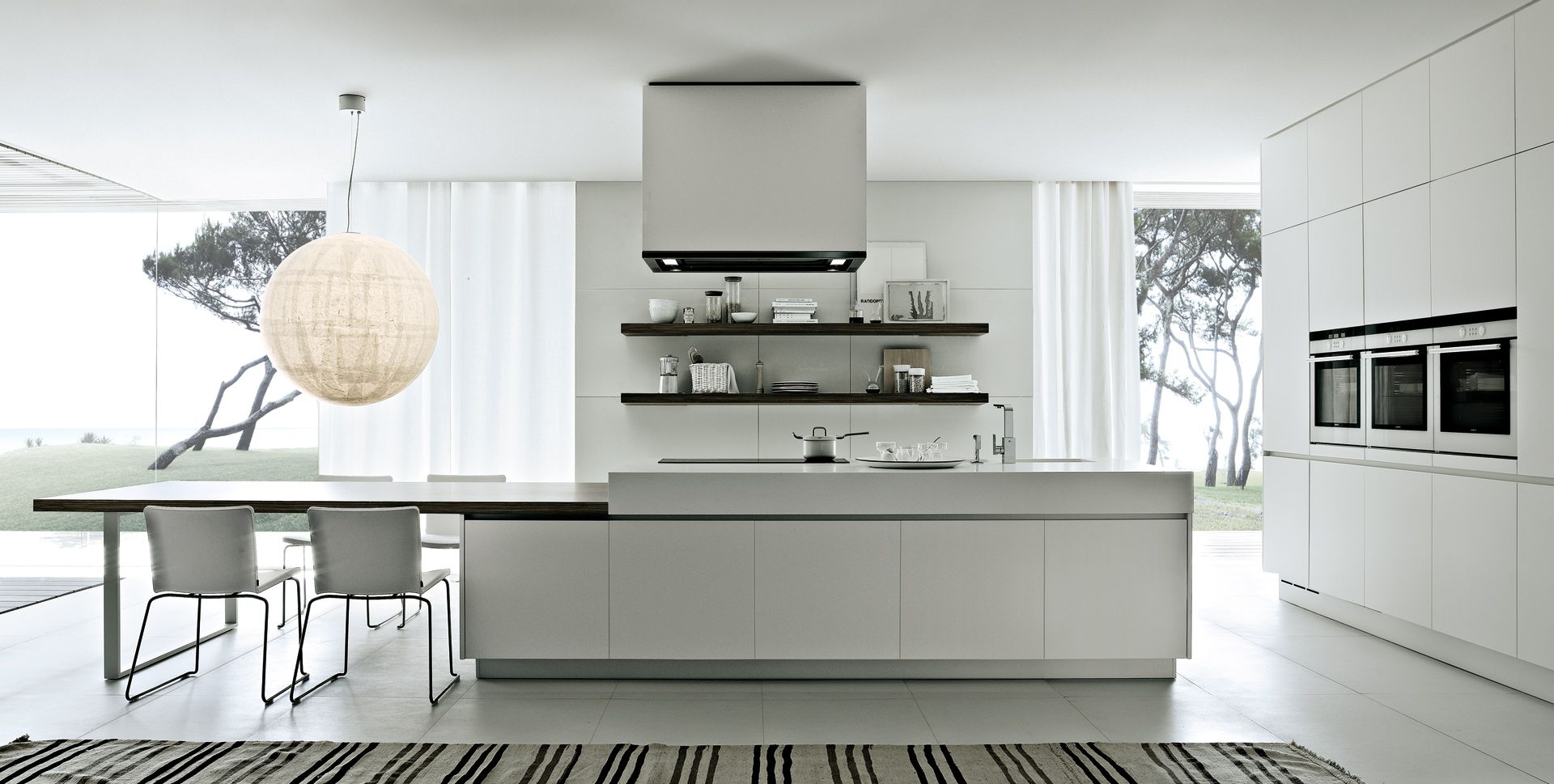 MINIMAL KITCHEN CABINETRY Designed by Poliform | Switch Modern In ...