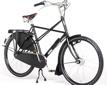 Opa With Cross Frame Bicycle City Bicycles Ebike