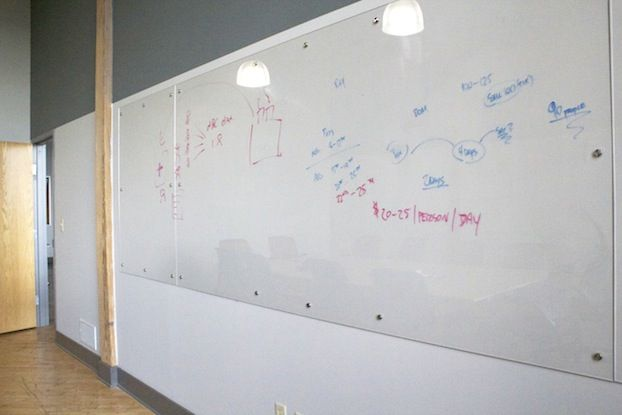 whiteboard for office wall. plexiglass wall instead of whiteboard insert maps behind to draw on for office 2