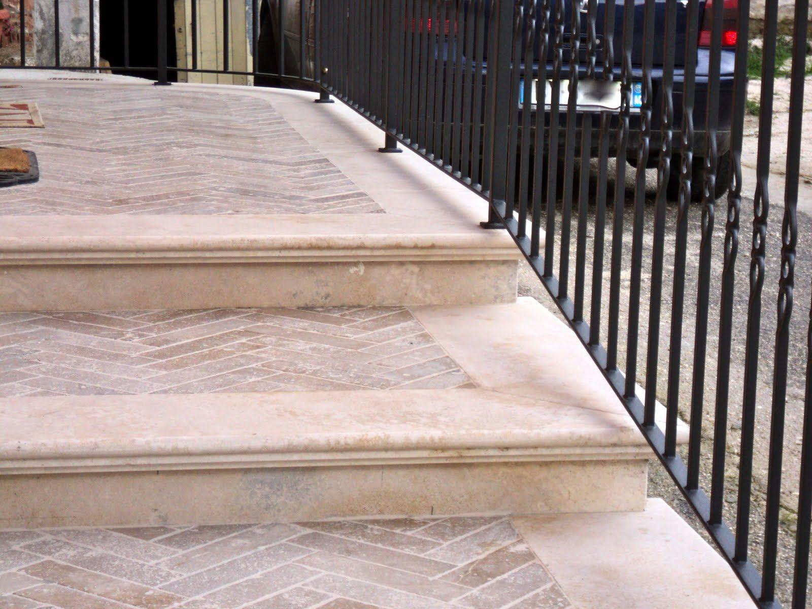risultati immagini per scale esterne in pietra   pavimentazioni ... - Pavimento Per Scale Esterne