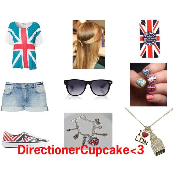 """""""DirectionerCupcake3"""" by marcia-magalhaes on Polyvore"""