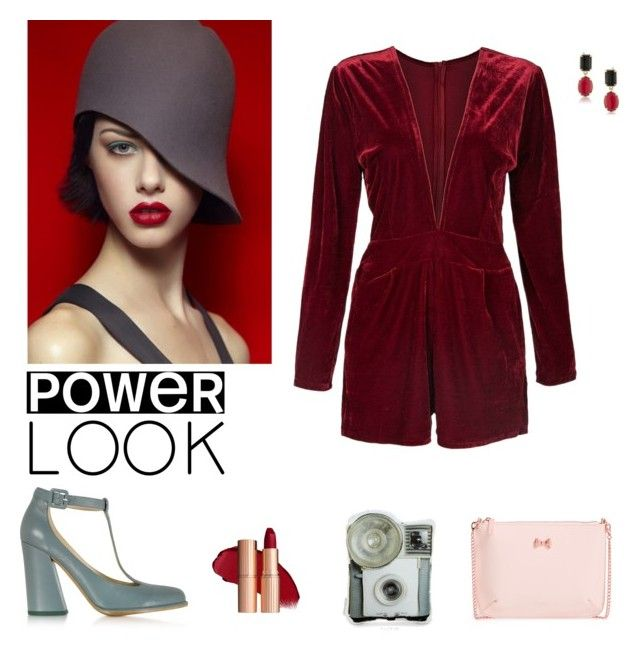 """""""Power Look."""" by ila-rose ❤ liked on Polyvore featuring See by Chloé, Ted Baker and powerlook"""