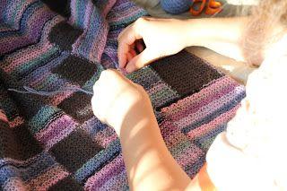 knitting by kaae: Sådan syr du retmasker sammen -montering
