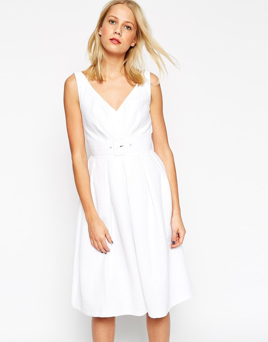 Asos us belted prom dress wear pinterest prom neckline and zip