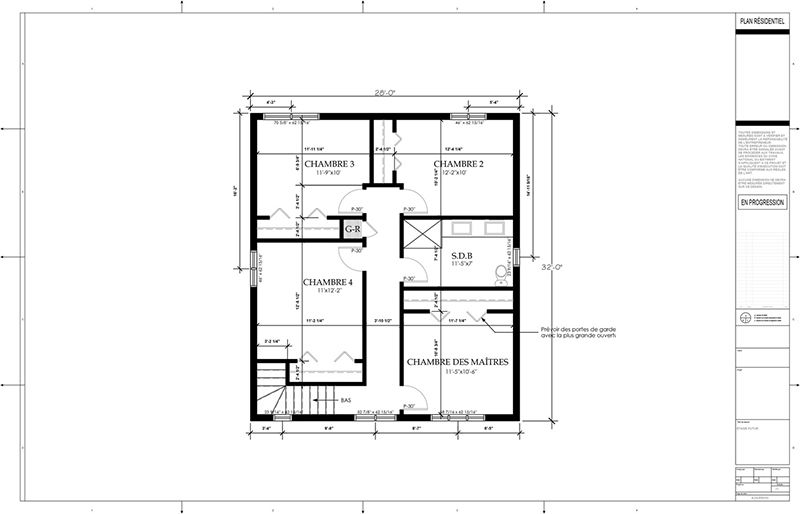 Exemple De Plans DAgrandissement De Maison Ajout Dtage Page