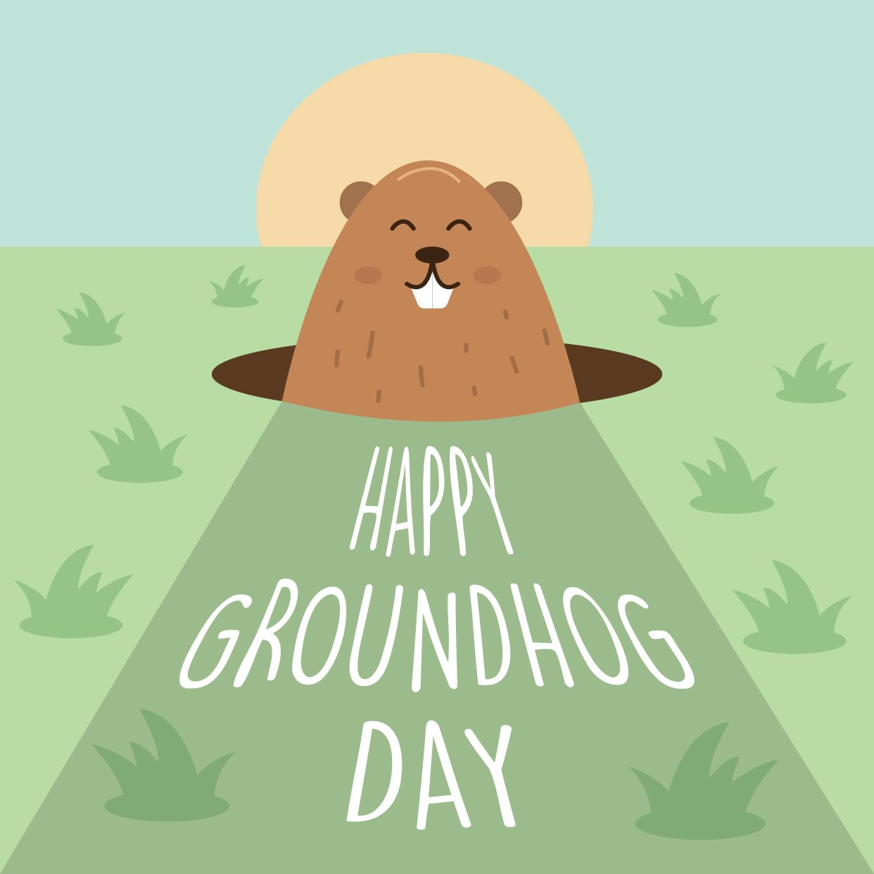February 2nd Is Groundhog Day In Canada We Ll Be Getting An Early Spring Greatlakesdental Ca Happy Groundhog Day Groundhog Day Groundhog