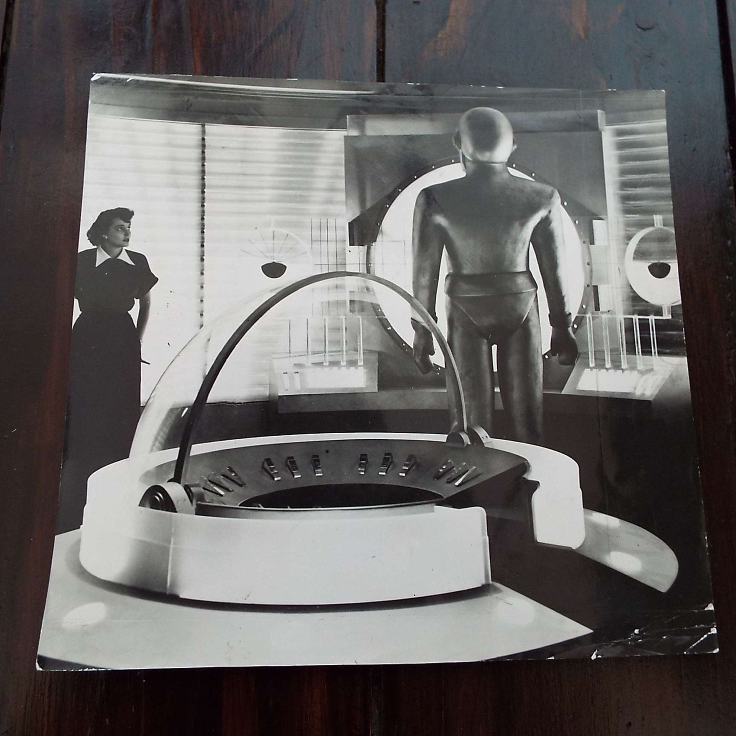 Vintage Original 1951 Press Photograph The Day The Earth