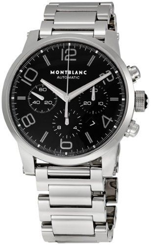 19d0ff420cdf3 Montblanc Timewalker Stainless Steel Mens Watch 9668 Montblanc.  3833.12.  Automatic. Water Resistance   10 ATM   100 meters   330 feet.