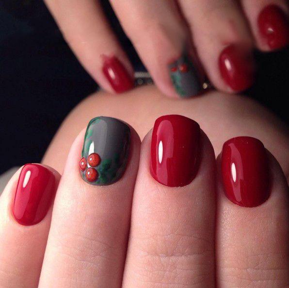 Dark Red Nail Polish: Dark Red Gel Nail Polish