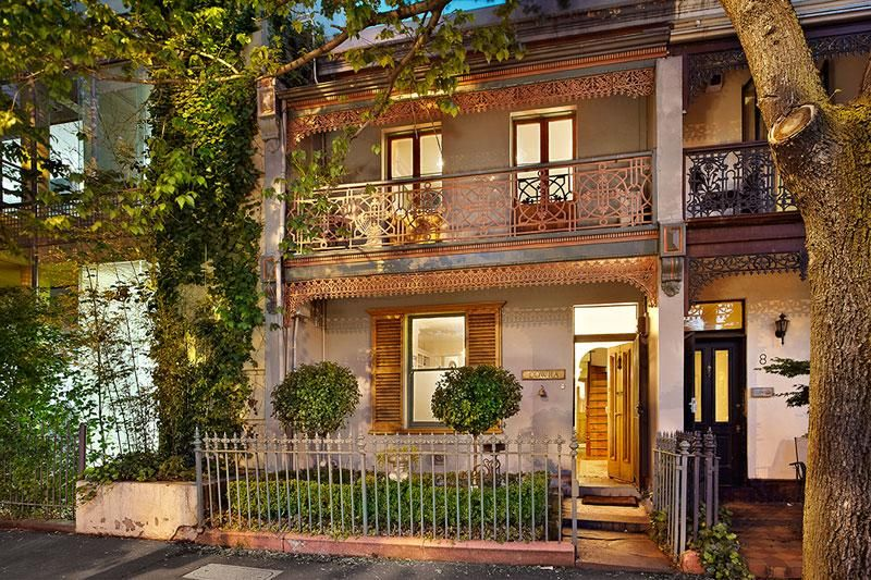melbourne terrace house in the scrapbook of dreams - Australian Victorian Houses