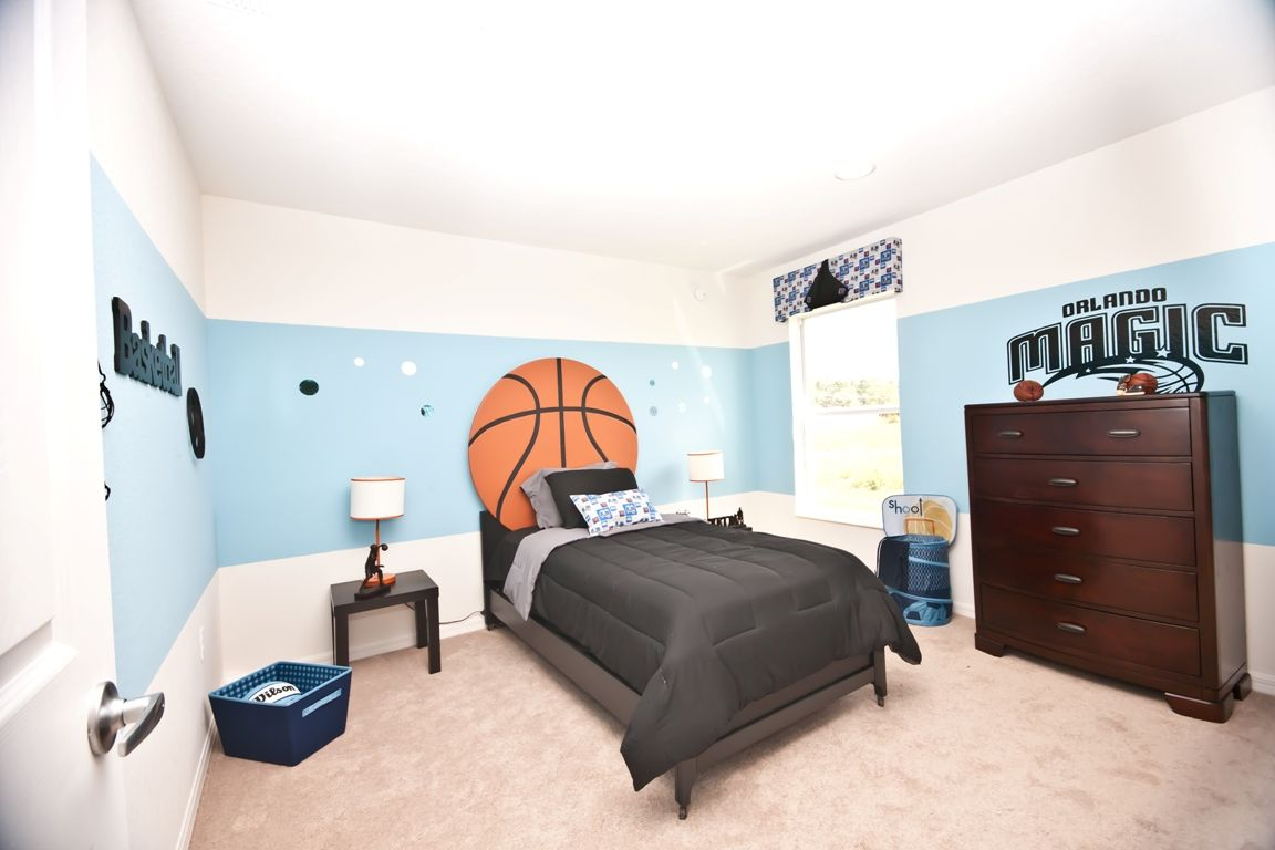 Highland Meadows East Polk County Highland Homes Basketball Theme Room Basketball Bedroom Basketball Room