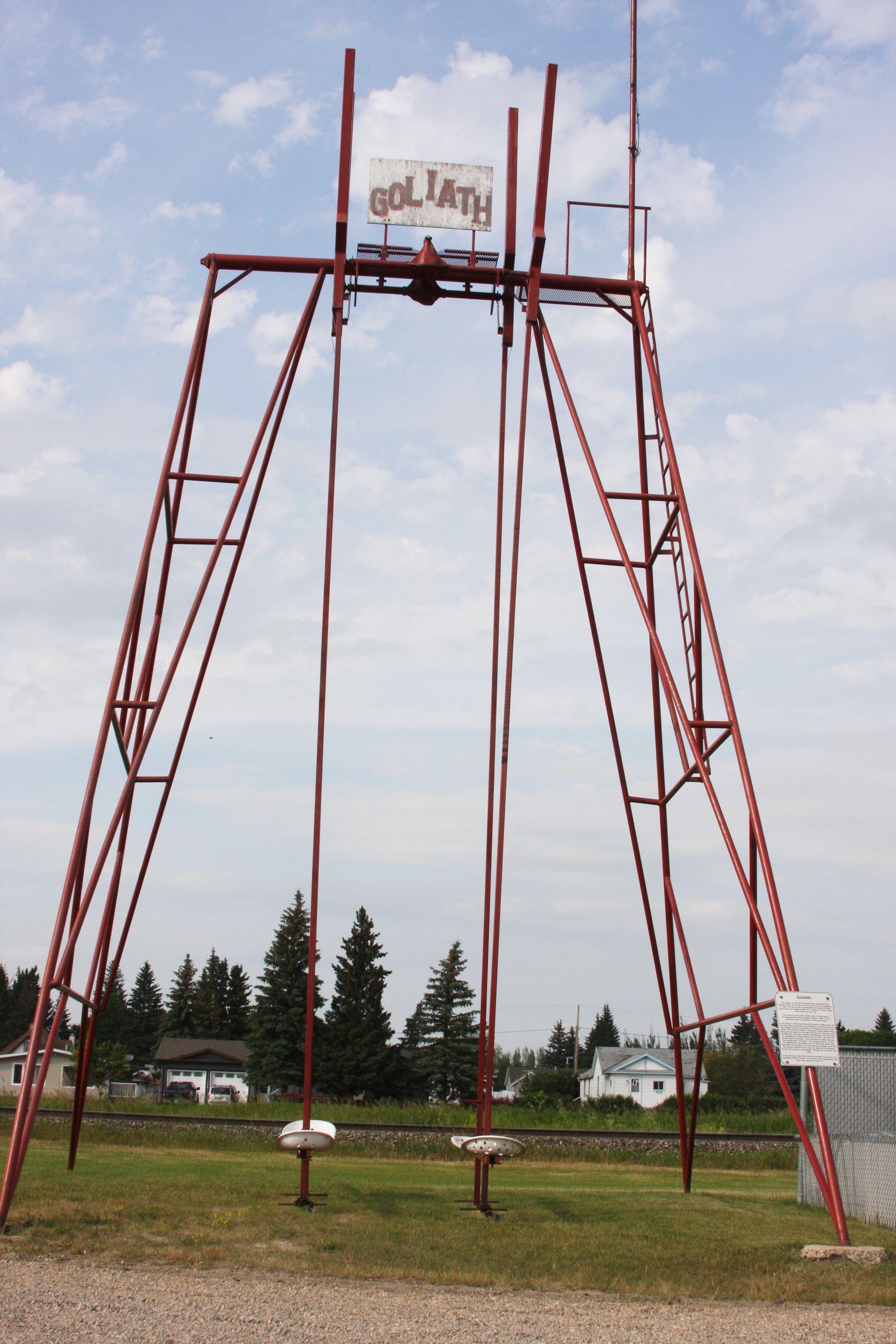 Goliath The World S Largest Swing Langenburg Saskatchewan