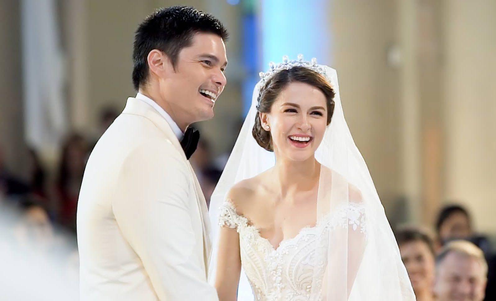 Wedding Film Of Dingdong And Marian The Journey Wedding Film Bridal Hair Veil Trendy Wedding Hairstyles