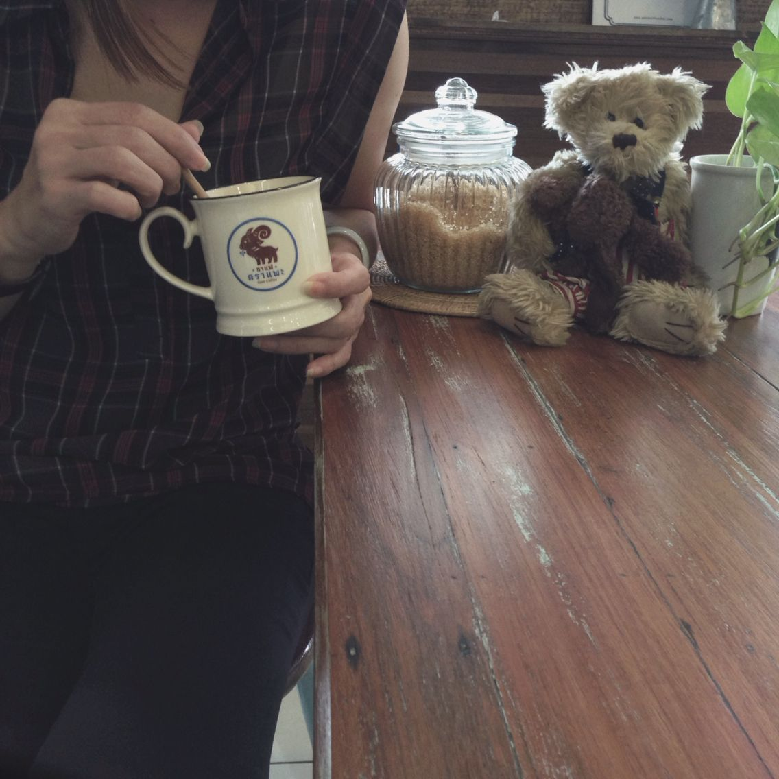 A cup of Happiness #GoatCoffee