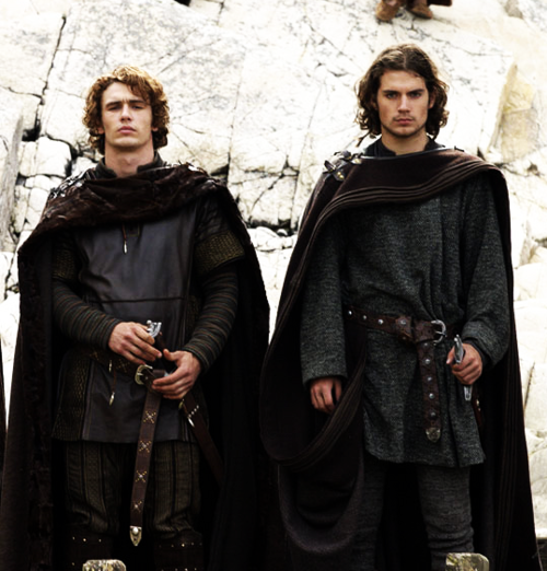 What a Pair! James Franco and Henry Cavill Period