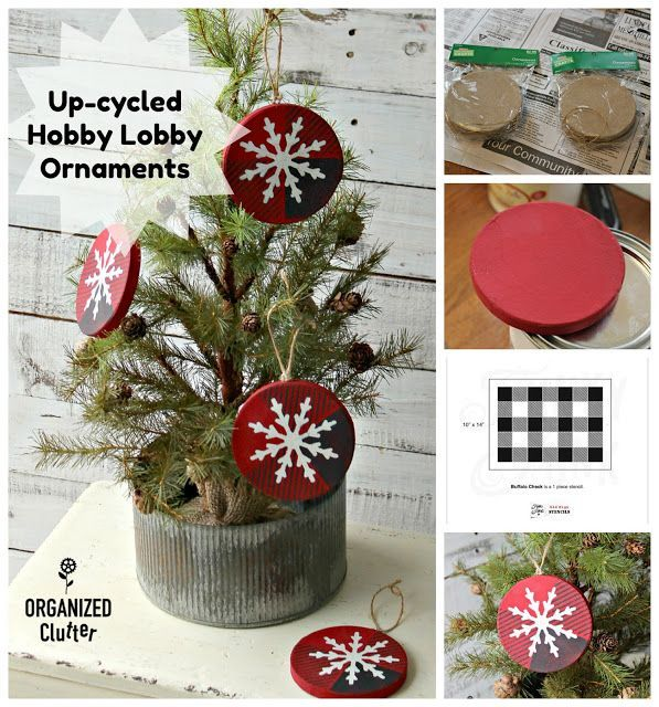 Up-Cycled Hobby Lobby Paper Christmas Ornaments Christmas Crafts