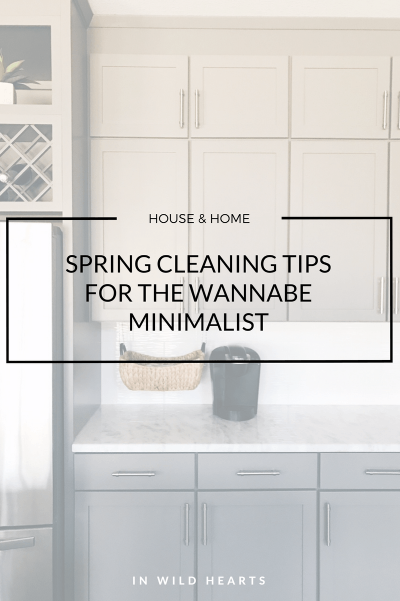 wannabe minimalist spring cleaning tips | :organize: | Pinterest ...