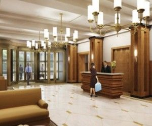 Big Apartment Building Lobby Interior Design Ideas Building