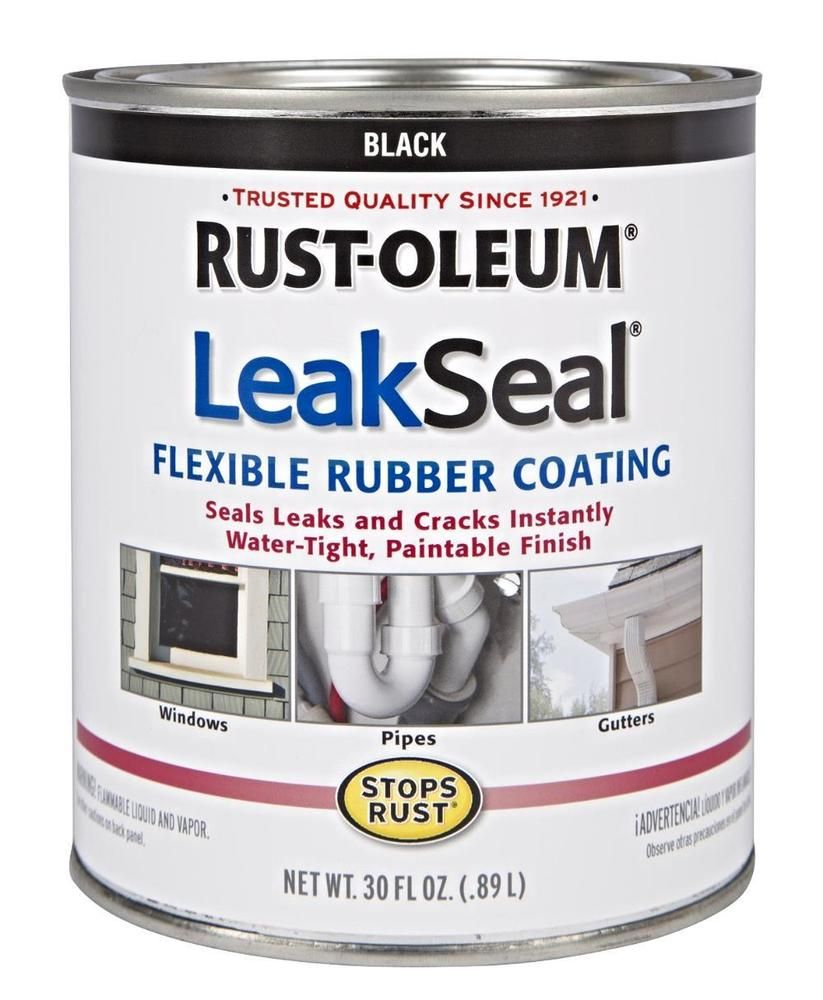 SEAL LEAK SEALANT Rust Liquid Stop Water Tight Block Rubber Roof