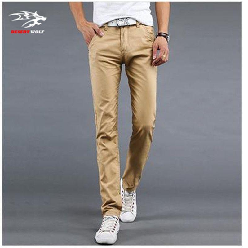 3 Color Size 28-40 Cotton Mens pants Classic joggers Men Casual ...