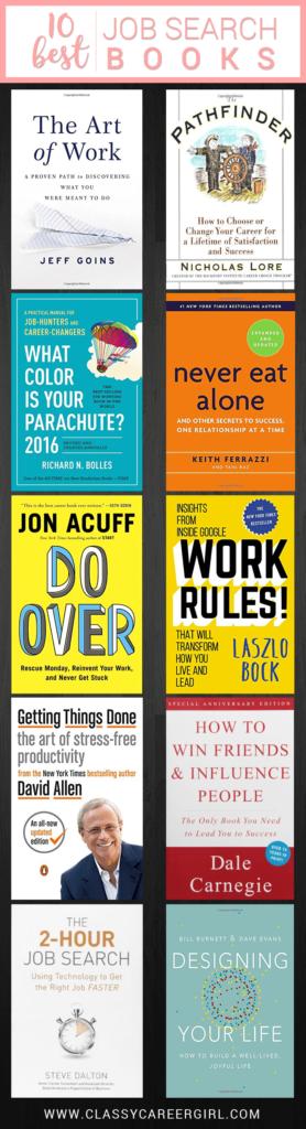 10 Best Books Every Job Seeker Should Read