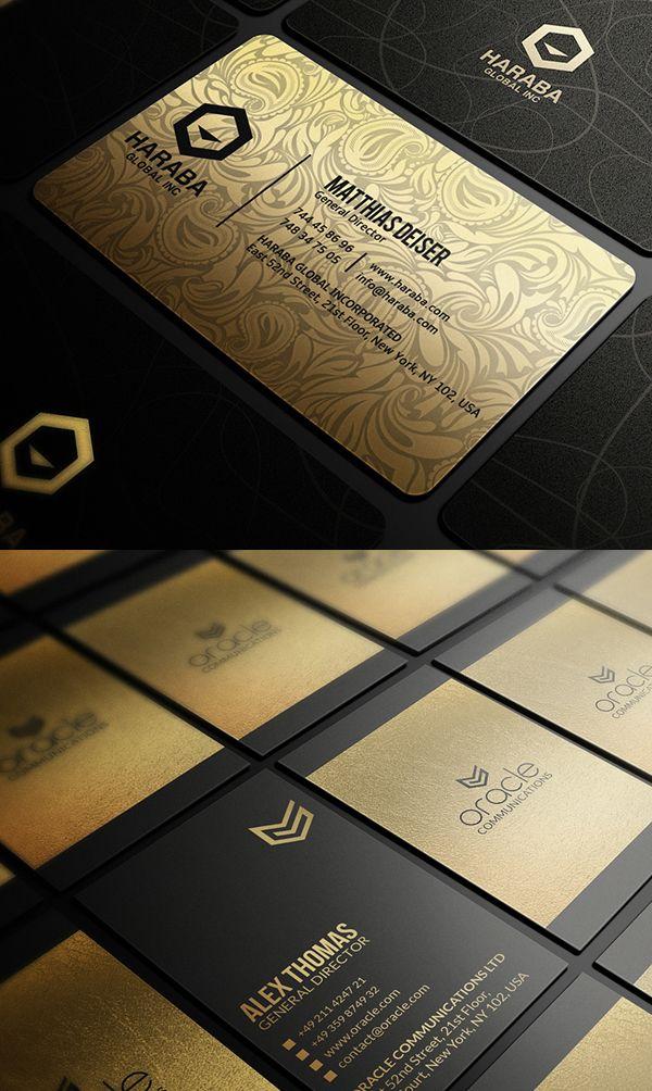 Creative Business Card Psd Templates 26 New Design Design Graphic Design Junction Gold Business Card Business Cards Creative Elegant Business Cards Design